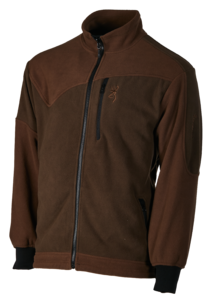 FLEECE, POWERFLEECE ONE ZIPPIN, GRÜN BRAUN